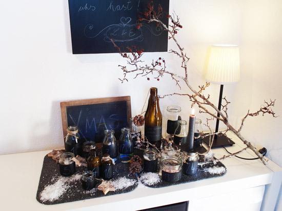 jetzt adventskalender basteln step by step anleitung f r einen stylischen adventskalender. Black Bedroom Furniture Sets. Home Design Ideas