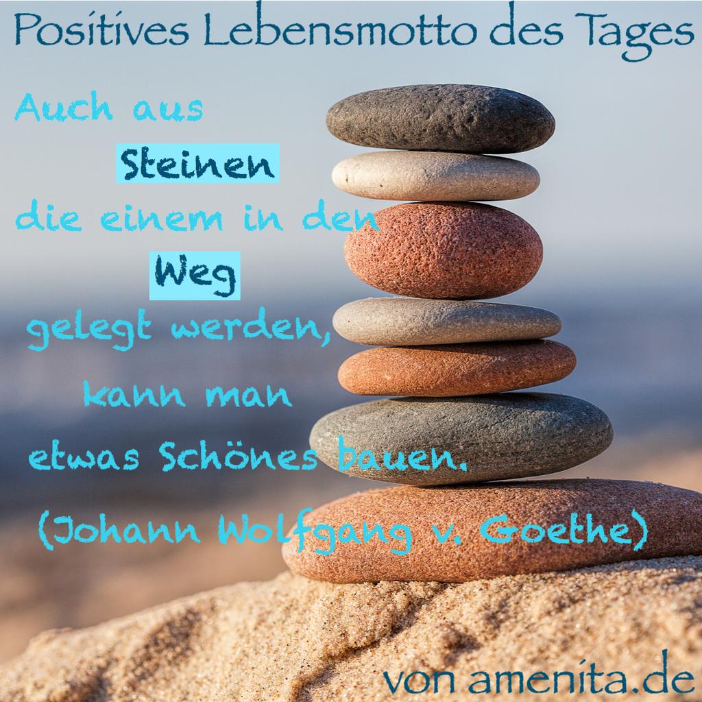 Dein positives Lebensmotto für den Tag