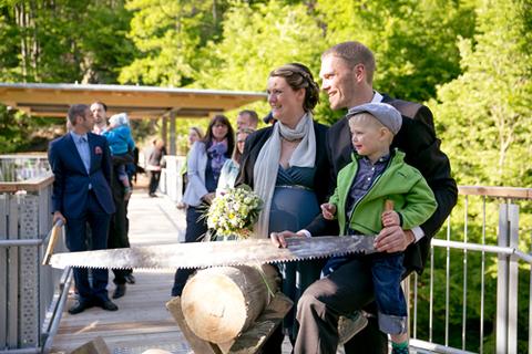 Hochzeit auf dem Baumwipfelpfad Bad Harzburg