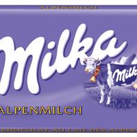 Milka Alpenmilch-Schokolade