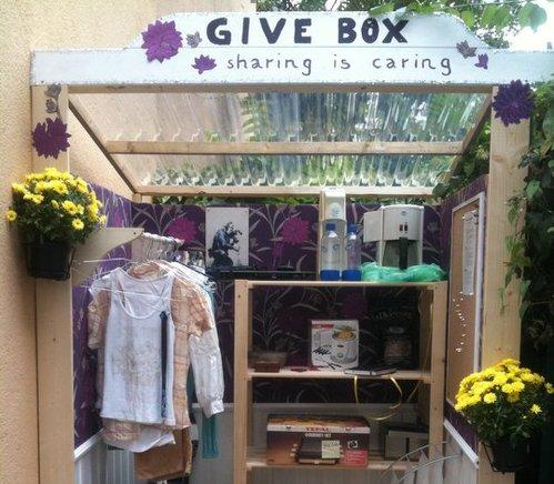 Giveboxen - die Verschenke-Büdchen