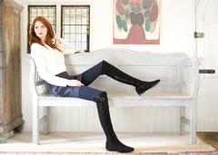 Stiefel für dicke und dünne Waden