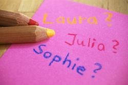 Namensbedeutung von Babynamen