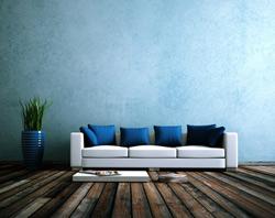 Farbwelt blau