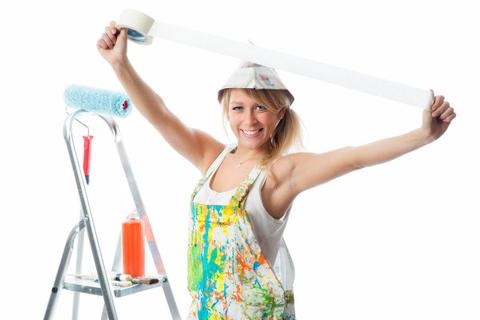 Wichtig vorm Streichen: Malerkrepp
