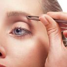 Augenbrauen zupfen Anleitung