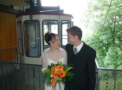 Trauung in der Bad Harzburger Hochzeitsgondel