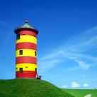 Der Otto Leuchtturm in Pilsum