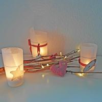 Selber machen: Romantische Deko für Weihnachten