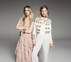 H&M Kollektion Amber Valletta